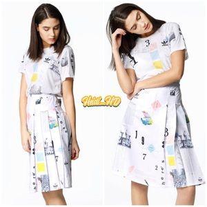 Adidas Originals Poster Print Outfit